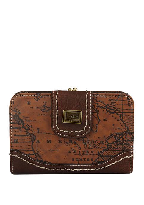 Voyage Square Frame Wallet