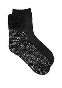 Boucle Yarn Sock