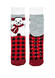 Buffalo Plaid Cat and Dog Socks