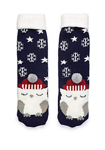 Critter Lodge Slipper Socks