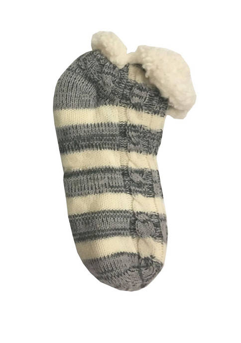 Sherpa Rugby Trapper Slipper Socks