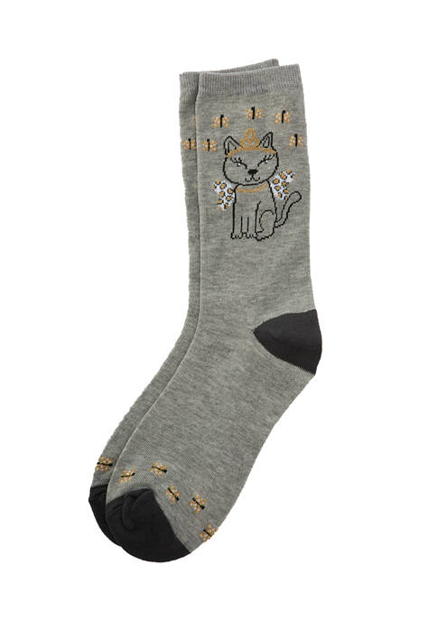 Kitty Angle Socks