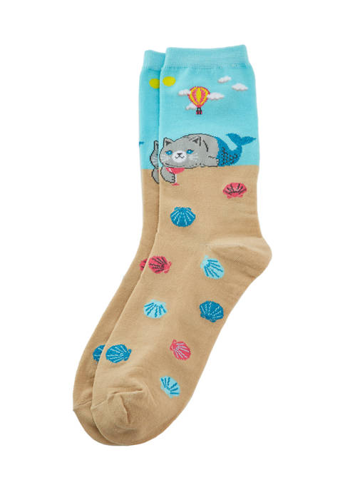 Meow Mermaid Socks