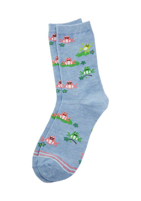 Frog Family Socks