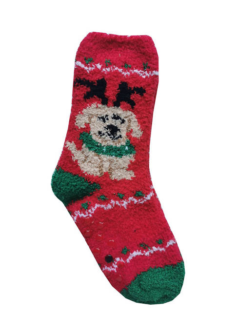 Joyland Kids Reindeer Dog Socks
