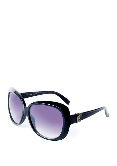 New Directions® Black Opaque Sunglasses