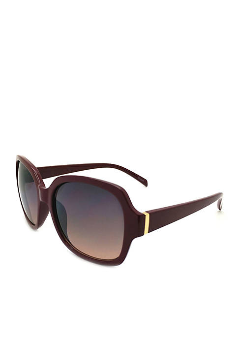 New Directions® Red Square Sunglasses