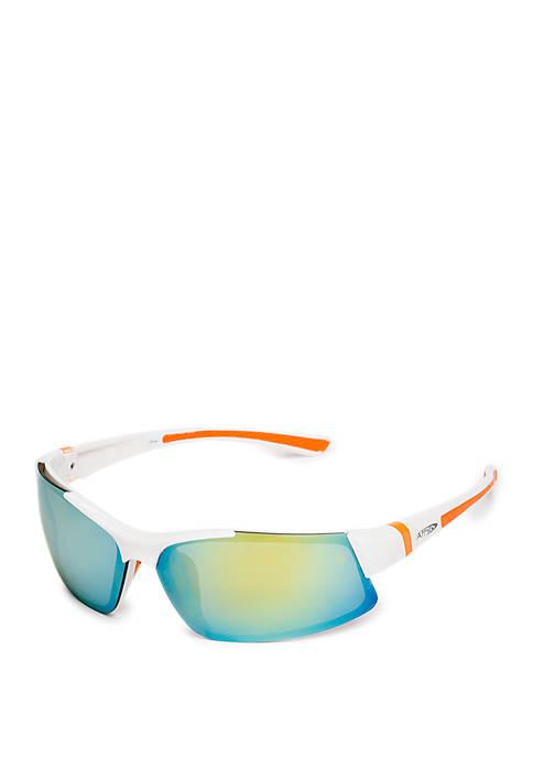 Semi Rimless Sport Sunglasses