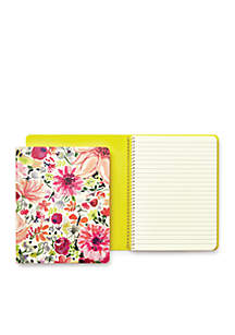 Concealed Spiral Notebook- Dahlia
