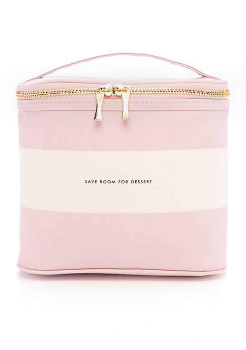 kate spade new york® Blush Rugby Stripe Lunch