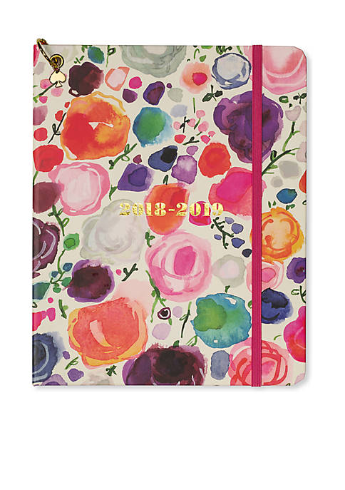 kate spade new york® Floral Large 13-Month Concealed