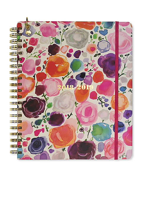 kate spade new york® Floral Mega 13-Month Spiral