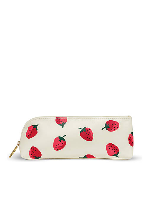 kate spade new york® Strawberries Pencil Case