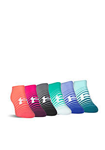 Liner No Show Socks- 6 Pack