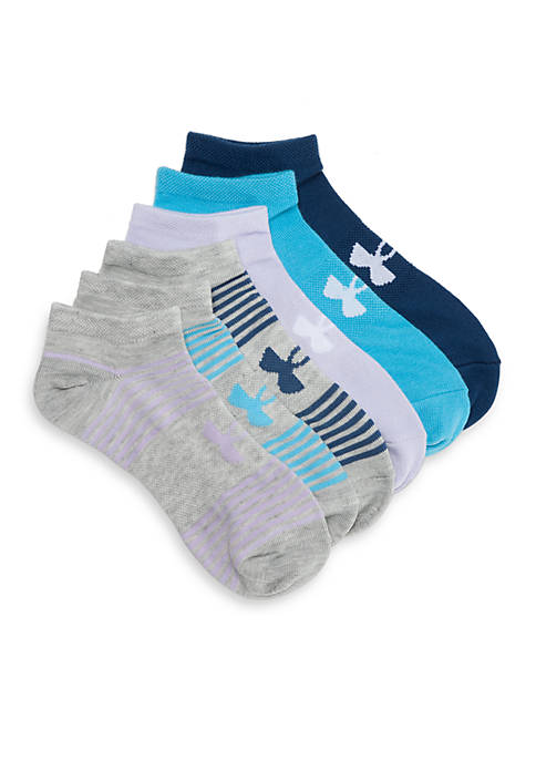 Under Armour® Essential Seasonal Mix No Show Socks-