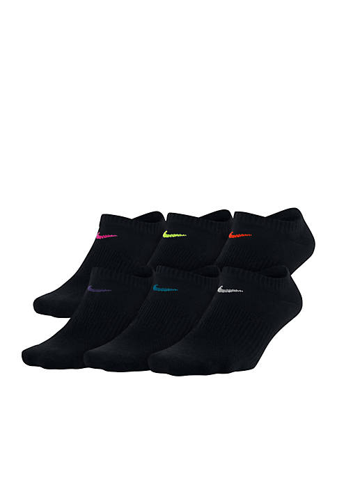 Nike® Womens Nike Everyday Lightweight No-Show Training Socks