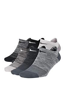 Nike® Lightweight No Show Training Socks Set of 6
