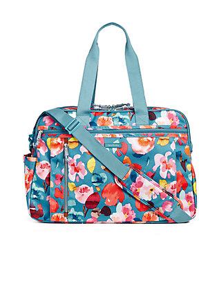 95854e8b3 Vera Bradley. Vera Bradley Lighten Up Weekender Travel Bag
