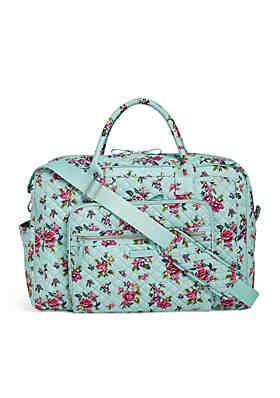 Vera Bradley Iconic Weekender Travel Bag ... df27f7879649e