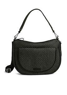Carson Denim Shoulder Bag
