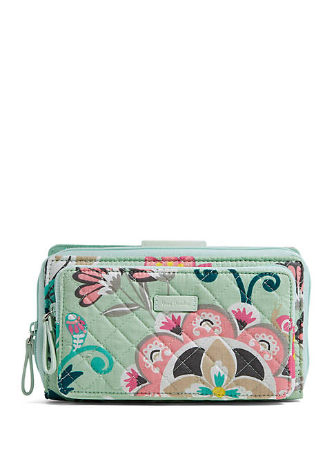 Vera Bradley Iconic Deluxe All Together Crossbody Bag