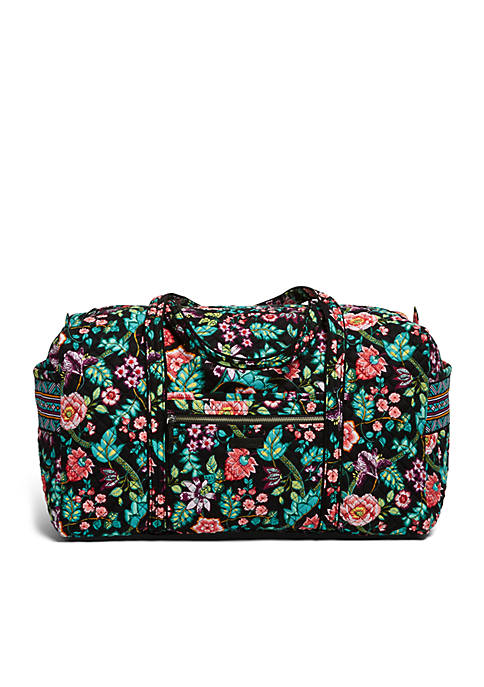 01cb62b798e Vera Bradley iconic Large Travel Duffel Bag   belk