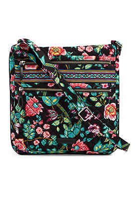 386d775202 Vera Bradley Iconic Triple Zip Hipster ...