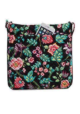 a15b592352 Vera Bradley Iconic Triple Zip Hipster Vera Bradley Iconic Triple Zip  Hipster