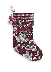 Holiday Stocking and Ornament Set