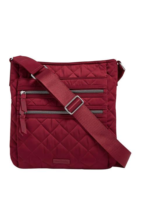 Vera Bradley Iconic Triple Zip Hipster Bag