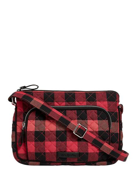 Vera Bradley Iconic RFID Little Hipster Bag