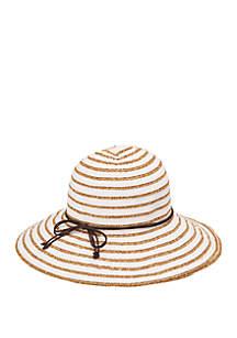 9fd3f8dfeb8ca ... San Diego Hat Company Ribbon Paperbraid Stripe Sun Hat