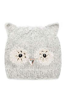 Jeweled Owl Beanie