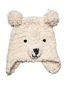 Ear Flap Polar Bear Hat