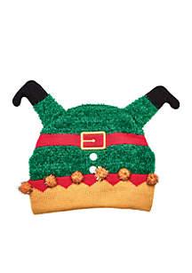 Upside Down Elf Hat