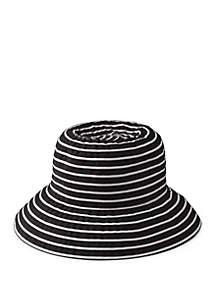 2ee217994 Betmar Hats Seaport Cap · San Diego Hat Company 2 Tone Ribbon Cloche Hat