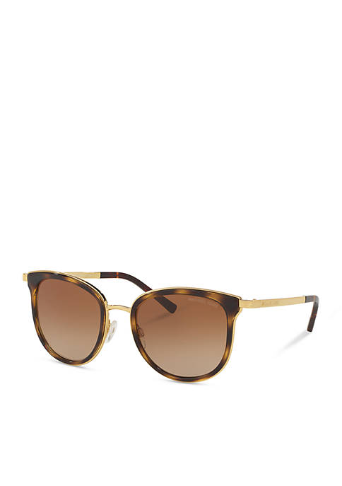 Michael Kors Sleek Acetate Metal Combo Sunglasses