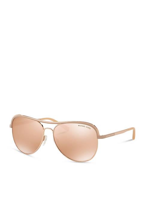 Chic Vivianna Aviator Sunglasses