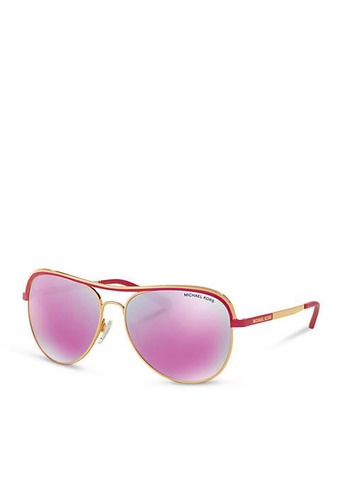 Michael Kors Chic Vivianna Aviator Sunglasses