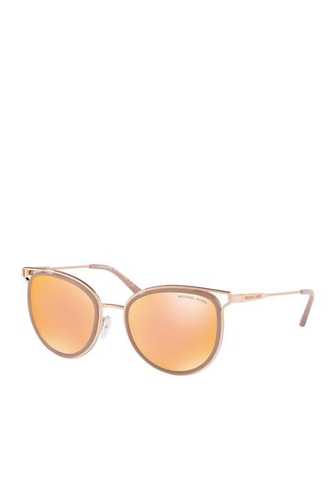 Havana Rose Gold Sunglasses