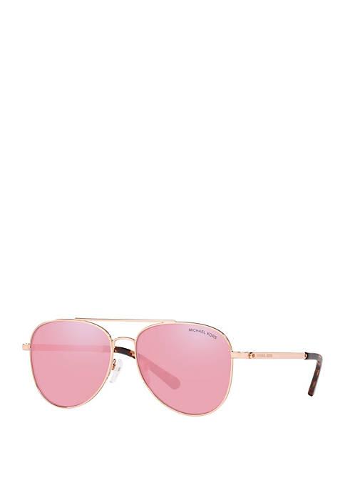 Michael Kors San Diego Aviator Sunglasses