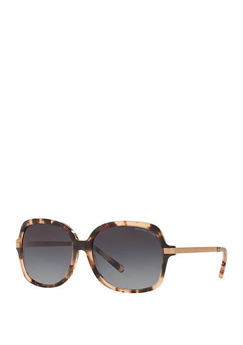 Adrianna II Square Tortoiseshell Sunglasses