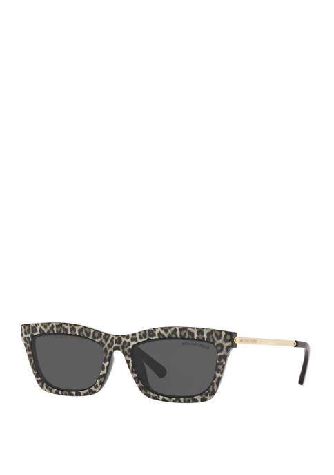 Michael Kors Leopard Cat Eye Sunglasses