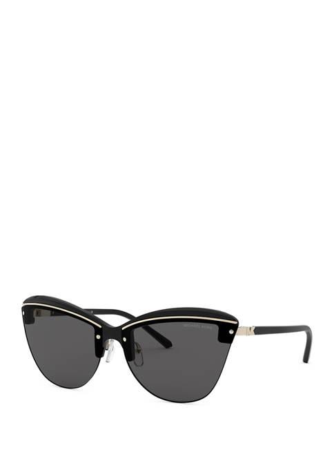 Michael Kors Rimless Cat Eye Sunglasses