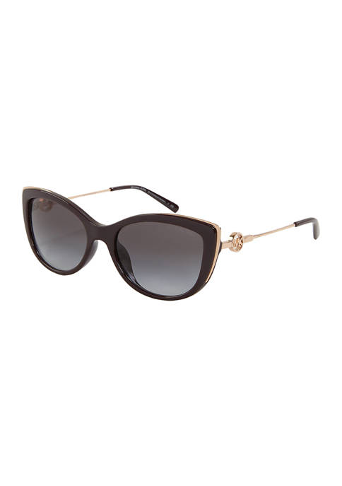 Michael Kors South Hampton Cat Eye Sunglasses