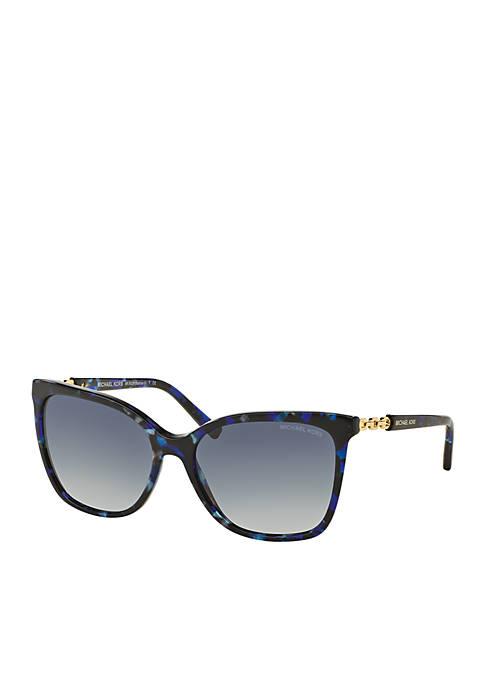 Michael Kors Glam Chain Link Sunglasses