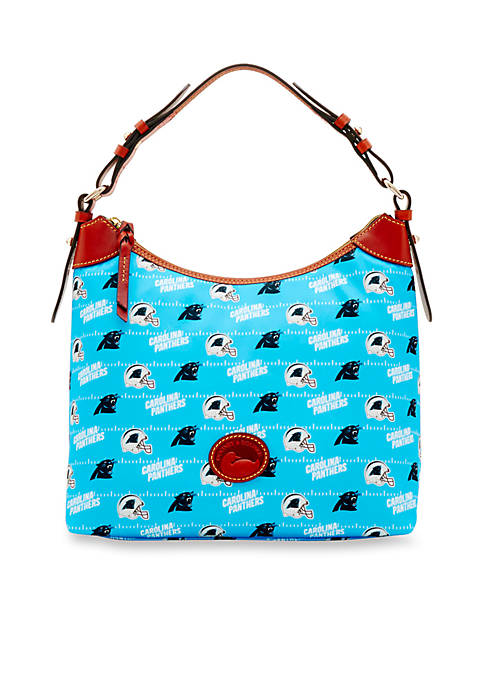 Dooney & Bourke Carolina Panthers Nylon Erica Hobo