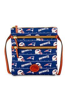 New England Patriots Nylon Triple Zip