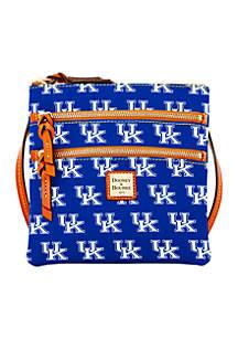 Kentucky Triple Zip Crossbody