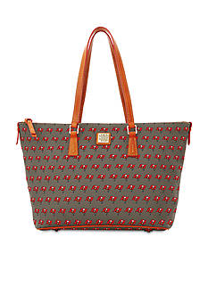 Dooney & Bourke Buccaneers Zip Top Shopper